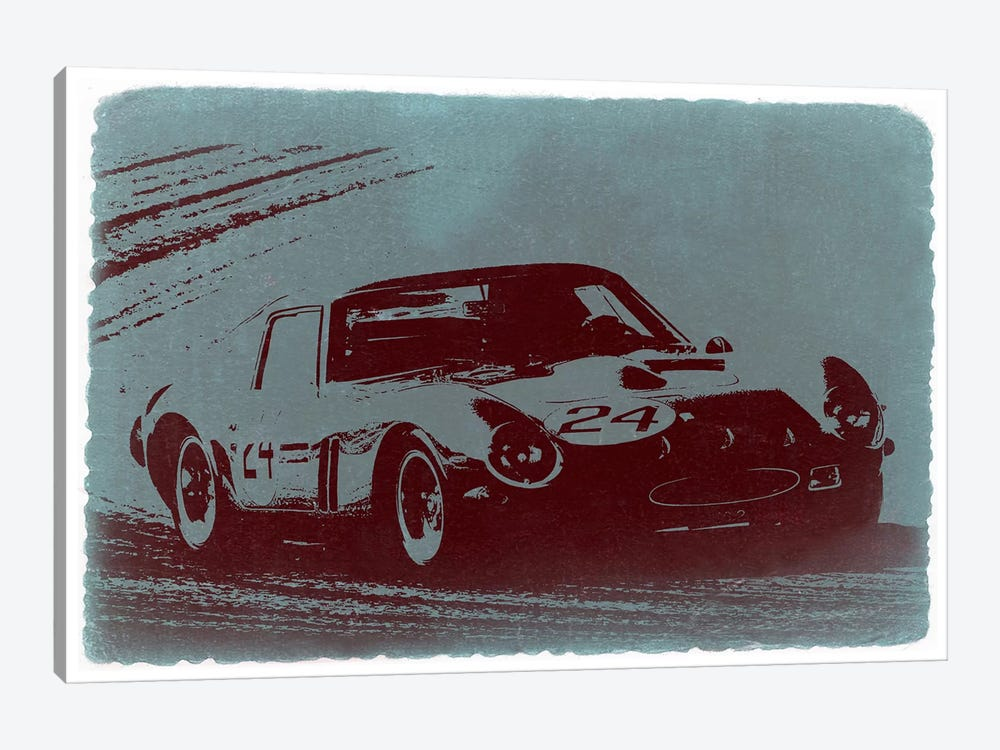 Ferrari 250 GTO by Naxart 1-piece Canvas Art Print