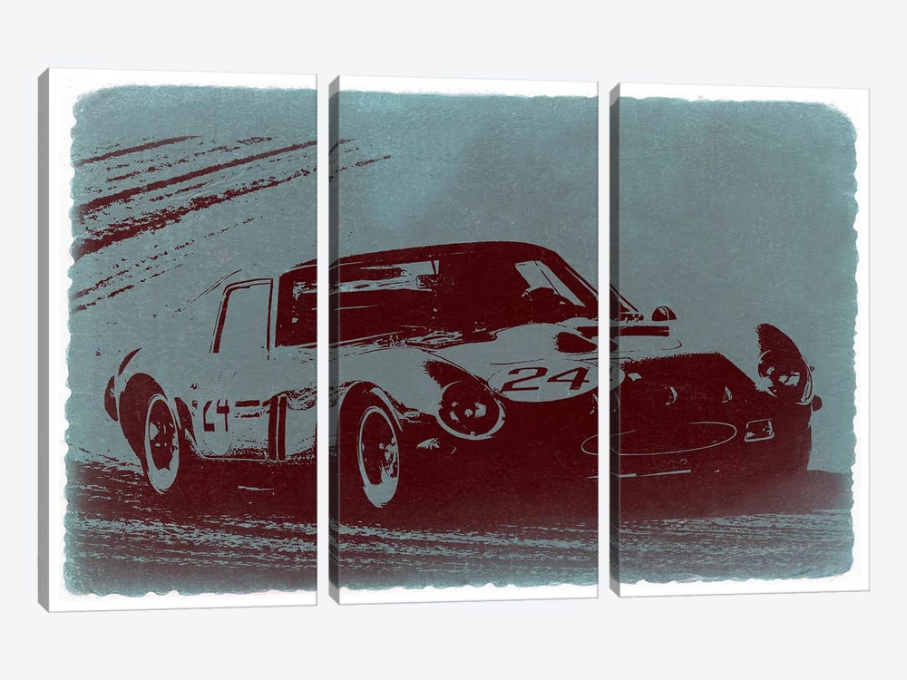 Ferrari 250 GTO by Naxart 3-piece Canvas Print