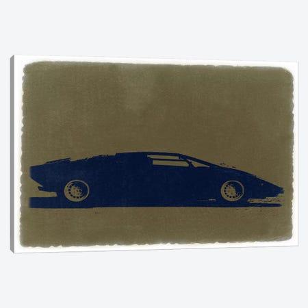 Lamborghini Countach Canvas Print #NAX231} by Naxart Canvas Art