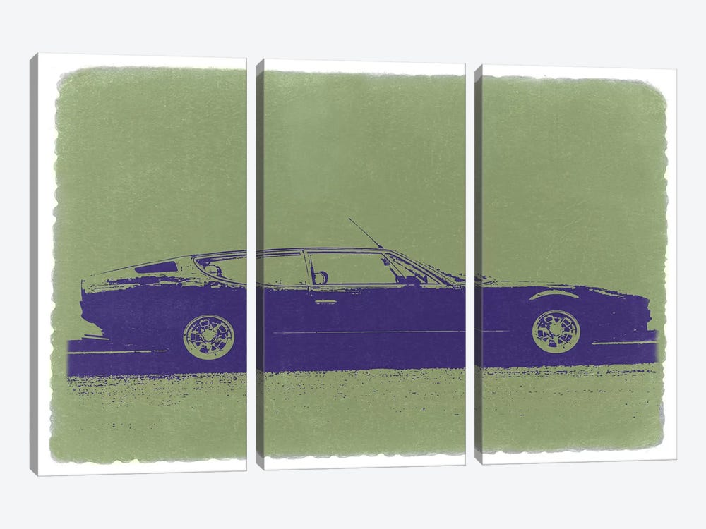 LAMBORGHINI ESPADA by Naxart 3-piece Canvas Artwork