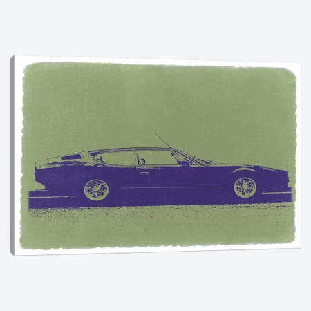 Lamborghini Espada Canvas Print #NAX232} by Naxart Canvas Wall Art