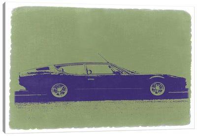 Lamborghini Espada Canvas Art Print