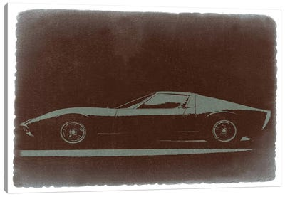 Lamborghini Miura Canvas Art Print