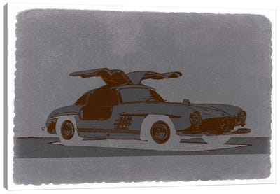 Mercedes-Benz 300 SL Canvas Print #NAX234