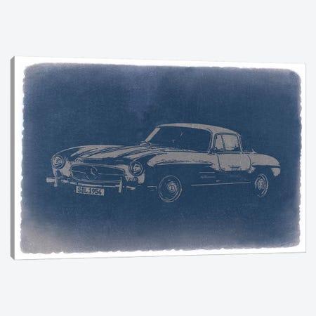 1954 Mercedes-Benz 300 SL Canvas Print #NAX235} by Naxart Canvas Print