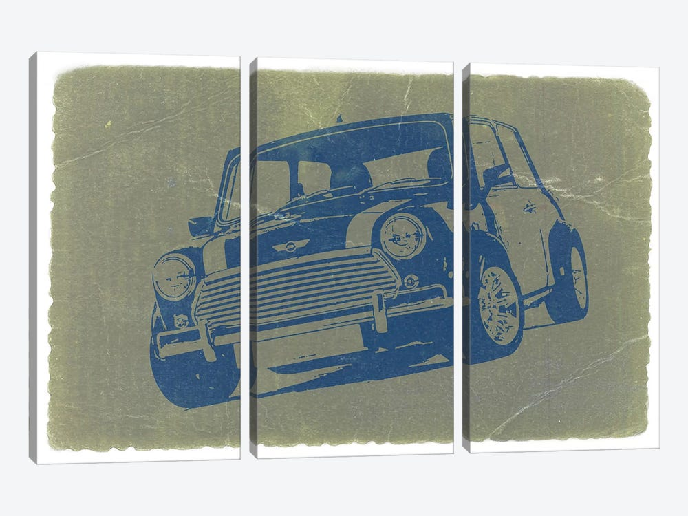 Mini Cooper by Naxart 3-piece Art Print