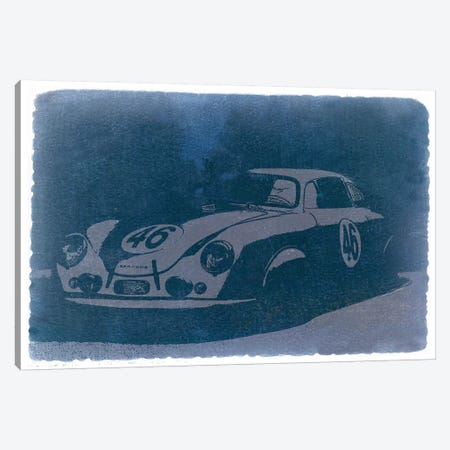 Porsche 356 Canvas Print #NAX238} by Naxart Canvas Artwork