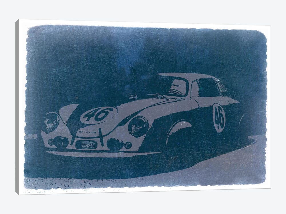 Porsche 356 by Naxart 1-piece Canvas Art