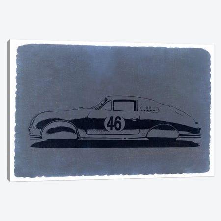 Porsche 356, Profile View Canvas Print #NAX239} by Naxart Canvas Artwork
