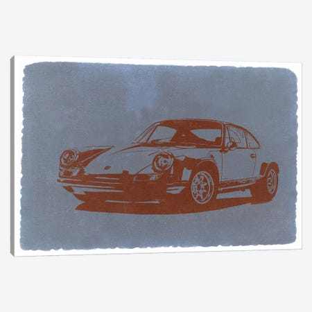 PORSCHE #9#11 Canvas Print #NAX240} by Naxart Art Print