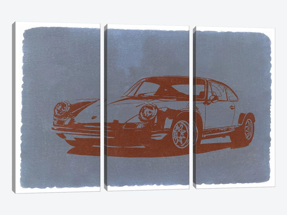 PORSCHE #9#11 by Naxart 3-piece Art Print