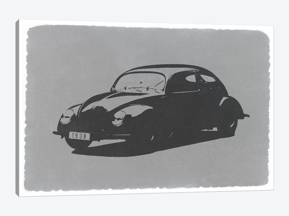 Volkswagen Beetle by Naxart 1-piece Canvas Art