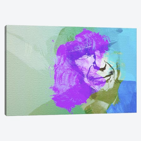 Leonard Cohen III Canvas Print #NAX27} by Naxart Canvas Artwork