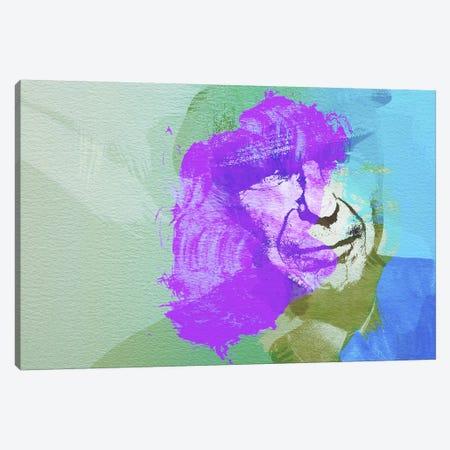 Leonard Cohen III Canvas Print #NAX27} by Naxart Canvas Artwork