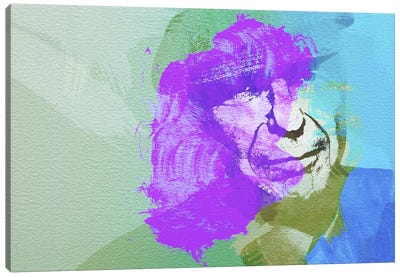 Leonard Cohen III Canvas Art Print