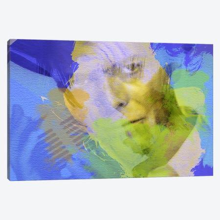 David Bowie Canvas Print #NAX28} by Naxart Art Print