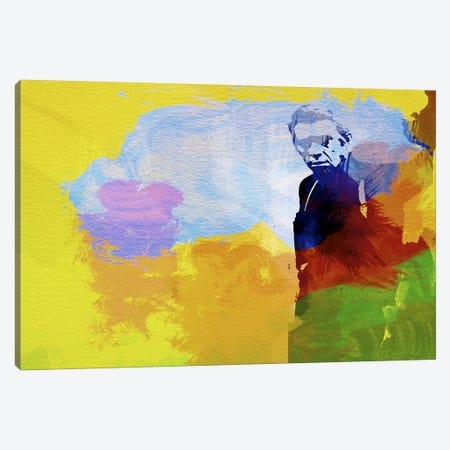 Steve McQueen Canvas Print #NAX31} by Naxart Canvas Art