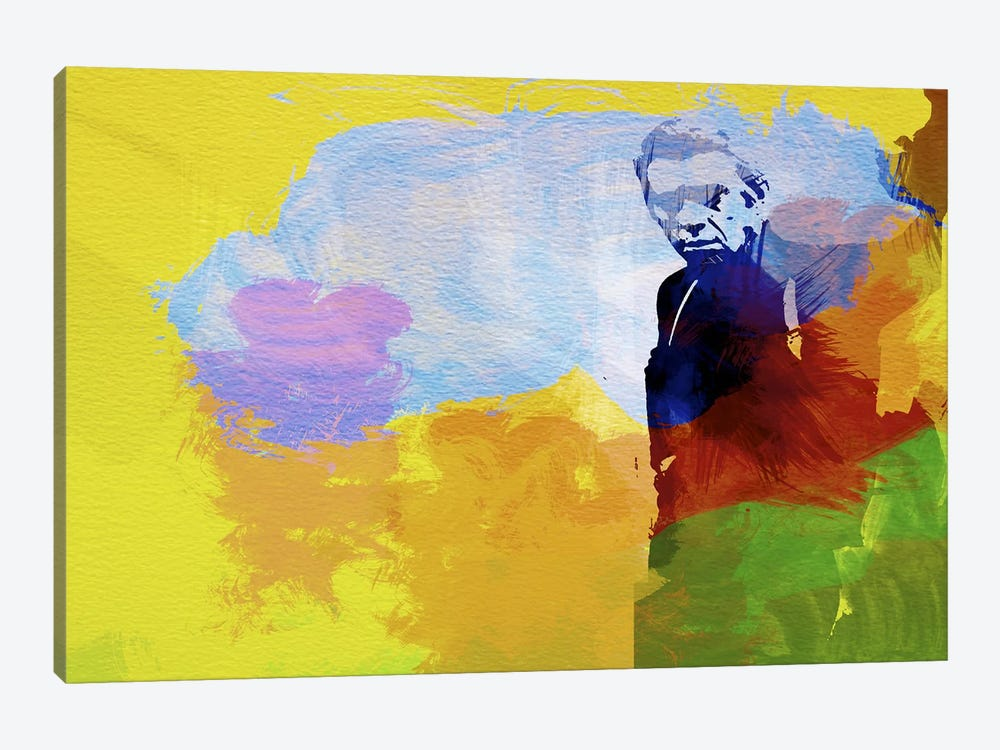 Steve McQueen by Naxart 1-piece Canvas Art Print