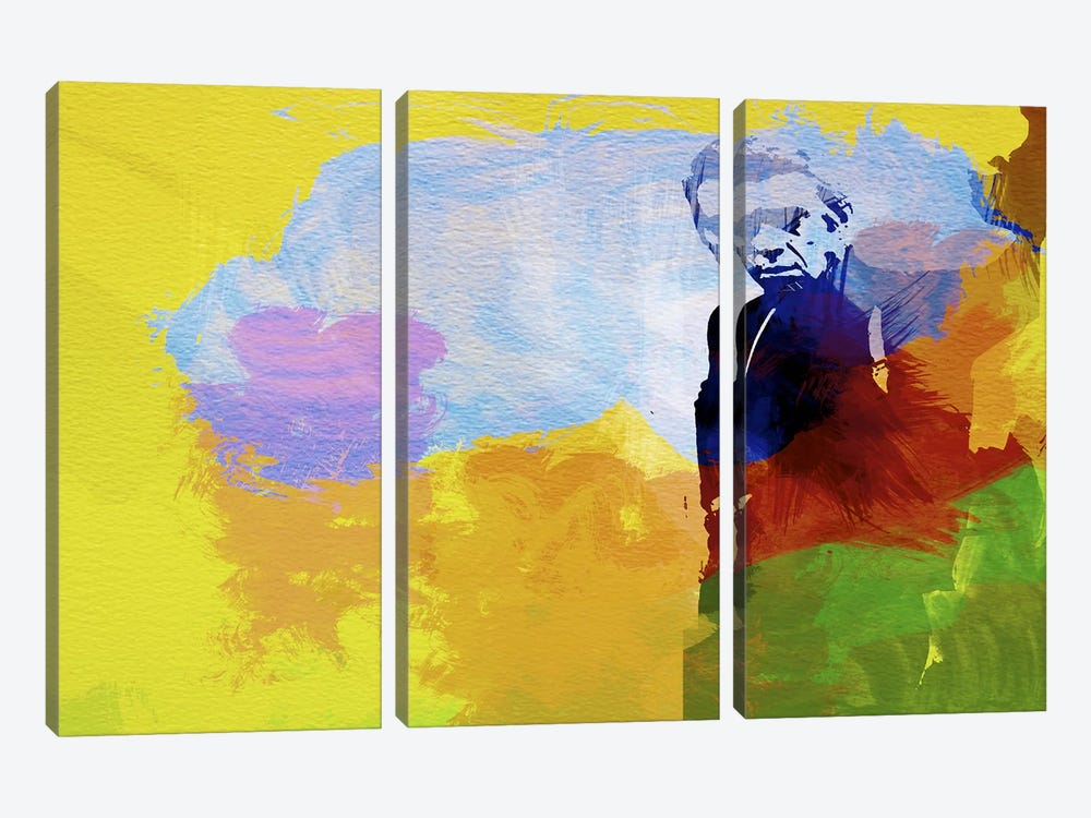 Steve McQueen by Naxart 3-piece Canvas Print