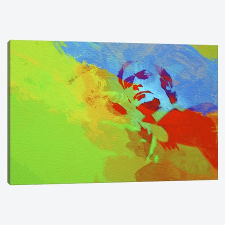 Michael Caine (Get Carter) Canvas Print #NAX32} by Naxart Canvas Artwork