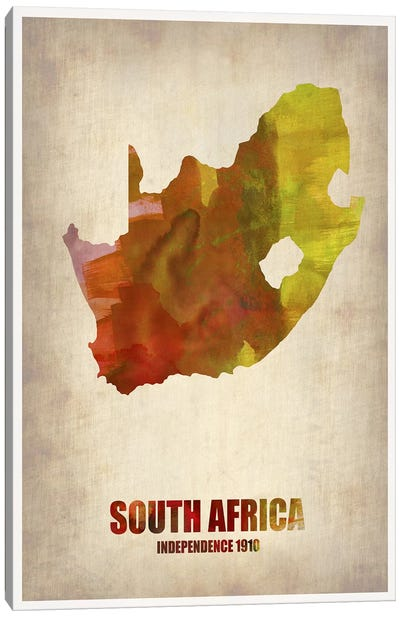 South African Map Canvas Print #NAX336