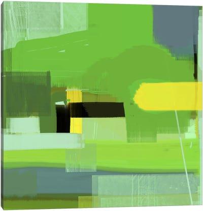 Green Abstract VI Canvas Print #NAX339