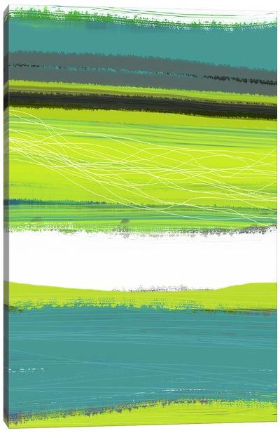 Aquatic Breeze I Canvas Print #NAX340