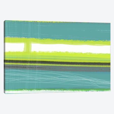 Aquatic Breeze II Canvas Print #NAX341} by Naxart Canvas Wall Art