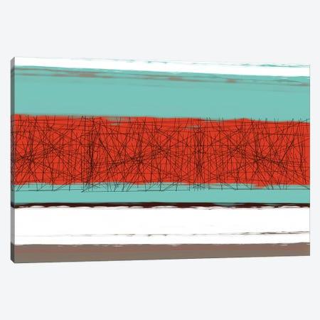 Aquatic Breeze III Canvas Print #NAX342} by Naxart Canvas Artwork