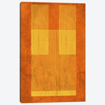 Orange Paper I Canvas Print #NAX345} by Naxart Canvas Print