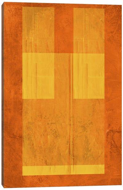 Orange Paper I Canvas Art Print