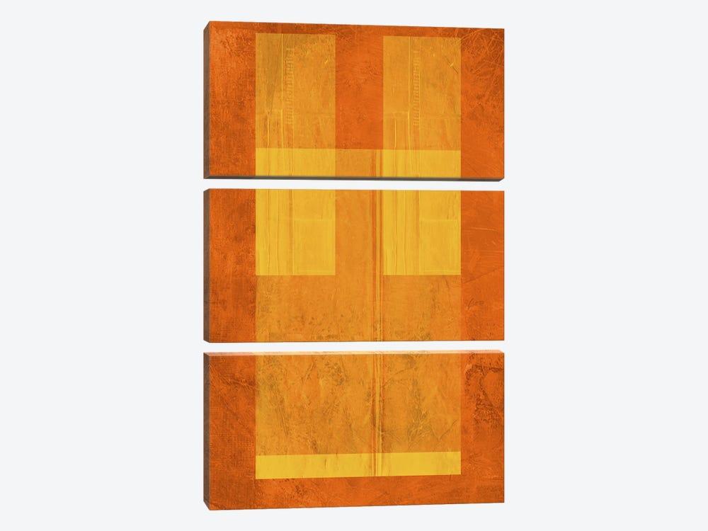 Orange Paper I by Naxart 3-piece Art Print