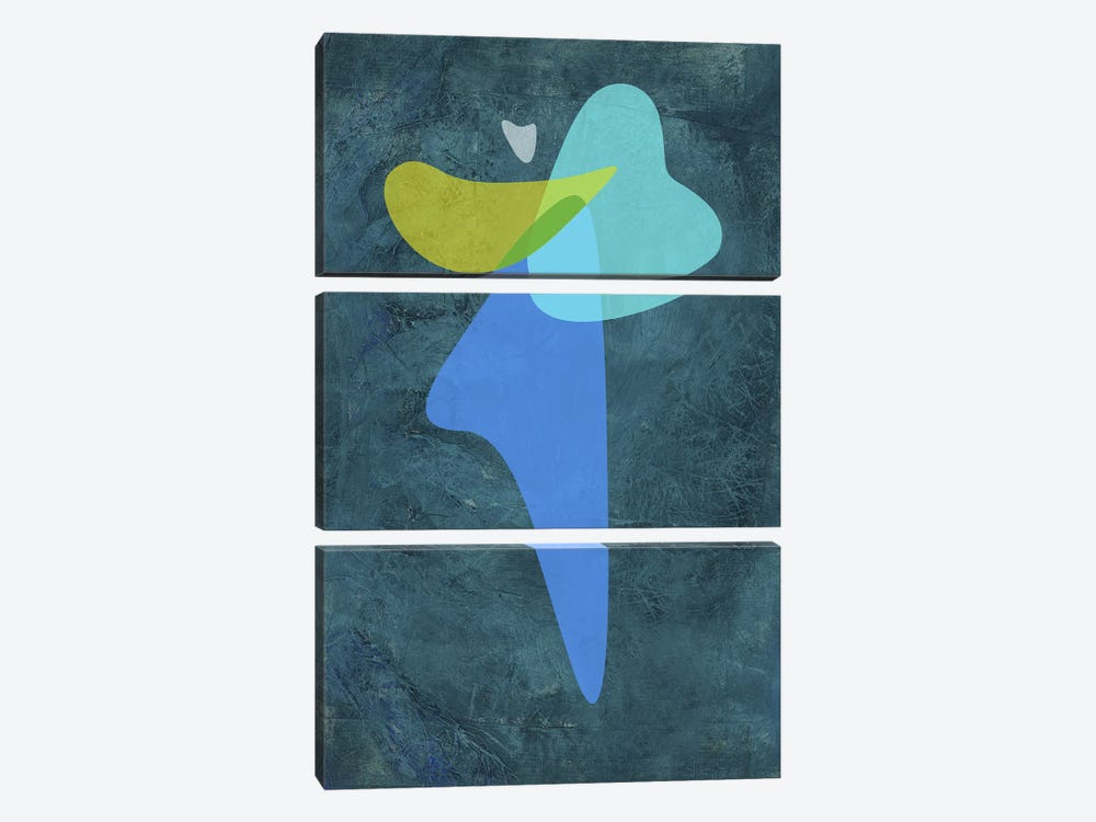 Shapes III by Naxart 3-piece Canvas Wall Art