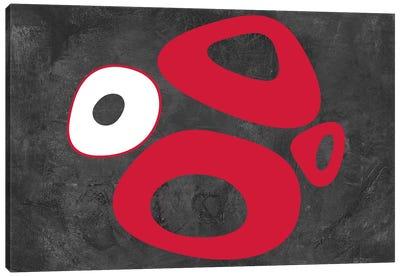 Abstract Splash Theme IX Canvas Art Print