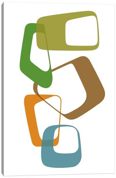 Abstract Rings I Canvas Art Print