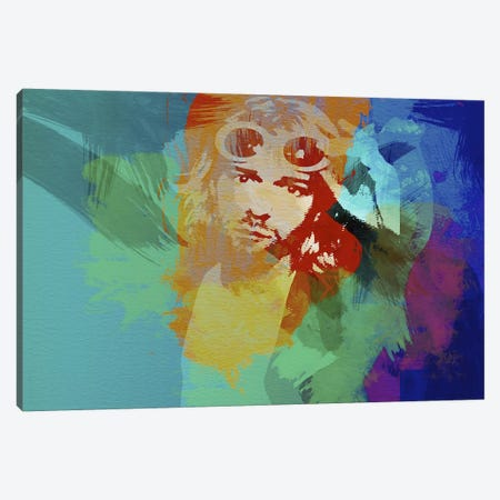 Kurt Cobain Canvas Print #NAX37} by Naxart Canvas Print