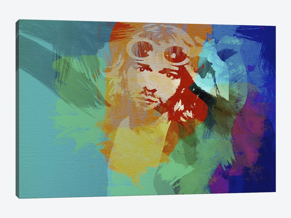 Kurt Cobain by Naxart 1-piece Canvas Print