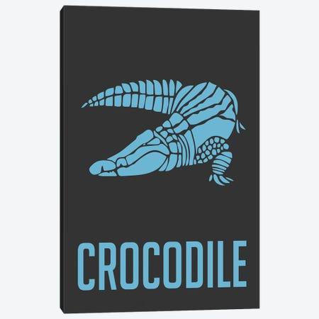 Crocodile I 3-Piece Canvas #NAX392} by Naxart Canvas Print