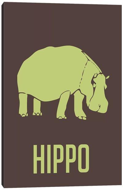 Hippo I Canvas Print #NAX393