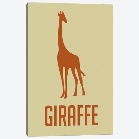 Giraffe I Canvas Print #NAX397} by Naxart Canvas Art
