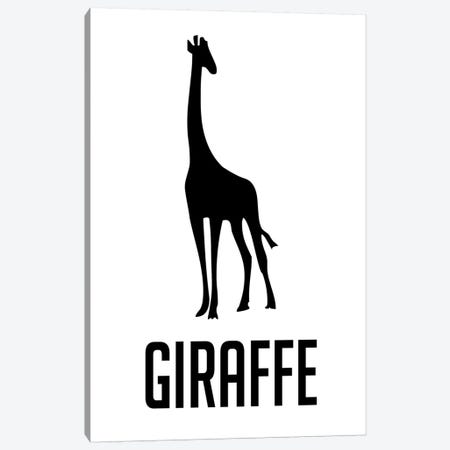 Giraffe II Canvas Print #NAX398} by Naxart Canvas Art Print