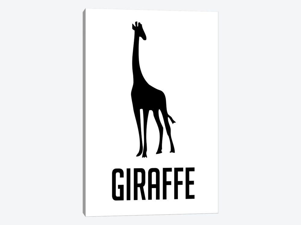 Giraffe II by Naxart 1-piece Canvas Art Print