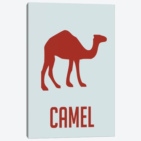 Camel I Canvas Print #NAX399} by Naxart Canvas Print