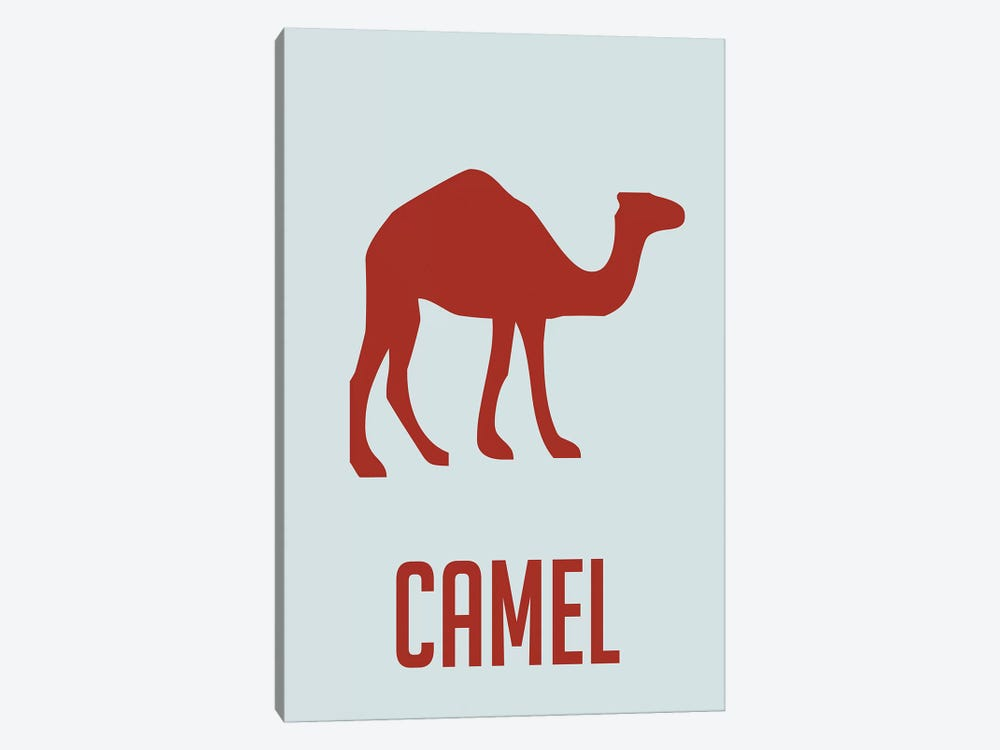 Camel I by Naxart 1-piece Canvas Art
