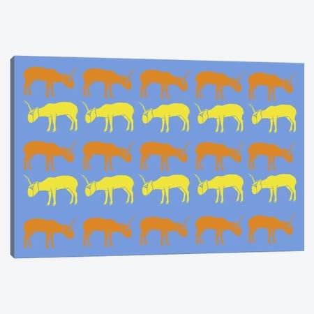 Safari V Canvas Print #NAX408} by Naxart Art Print