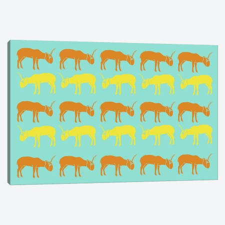 Safari VI Canvas Print #NAX409} by Naxart Canvas Art Print