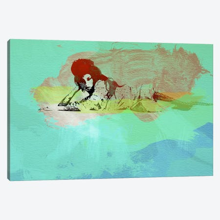Amy Winehouse III Canvas Print #NAX40} by Naxart Canvas Art Print
