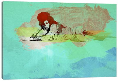 Amy Winehouse III Canvas Print #NAX40