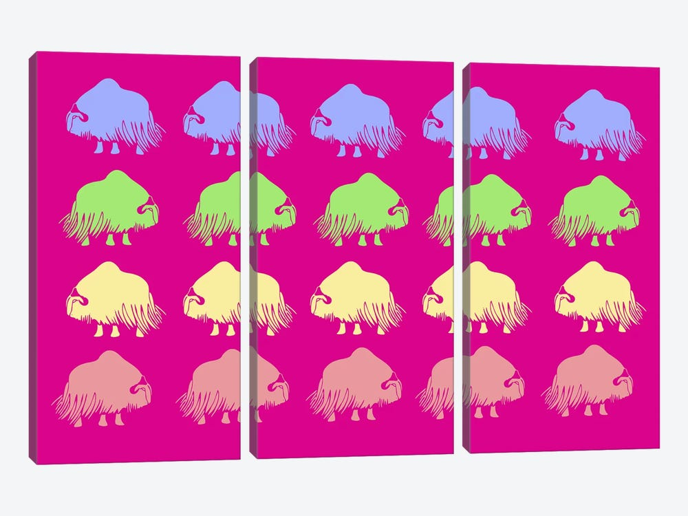 Safari IX by Naxart 3-piece Canvas Art