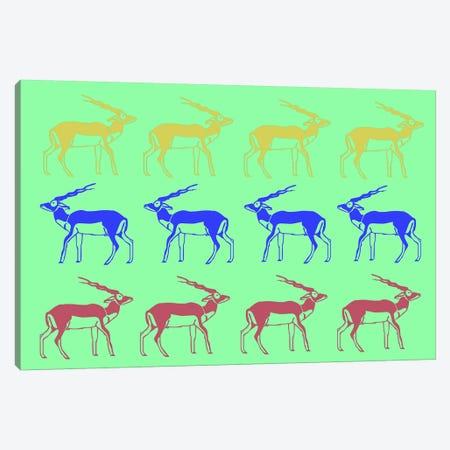 Safari XII Canvas Print #NAX417} by Naxart Canvas Art Print